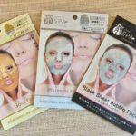 【家SPA(イエスパ)】リッチフェイスマスク3種類を体験!個性的で楽しいマスクは、効果もすごい!