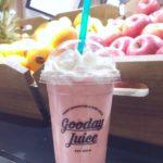 インスタ映えドリンク!【Gooday Juice(グッデイジュース)/あまおういちごミルク】がピンクで可愛いくて美味しい!