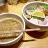 【むぎとオリーブ/銀座】でミシュランも認める人気ラーメン店のつけ麺を食べる!蛤エキスが美味しい!