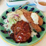 【バンビ(BAMBI)/四ツ谷】昔ながらの洋食屋さんでがっつりランチを食べるならここ