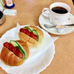 【フォンテーヌ/神楽坂】赤城神社すぐの昭和レトロ喫茶店で朝8時からのモーニングを食べる