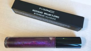 ダズルガラス ボーイズゴークレイジー【MAC】ディープパープルに多色ラメがざっくざくなグロス