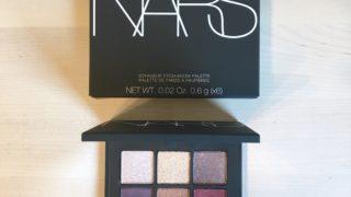 全色捨て色なしで可愛い!アットコスメショッピング限定ヴォワヤジュール アイシャドーパレット1192 QUARTZ【NARS】