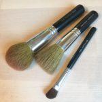 アラサーコスメ好きが愛用するメイクブラシのおすすめ!【熊野筆SSシリーズ/ベアミネラル】化粧ブラシ