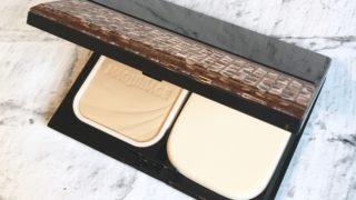 【マキアージュ】ドラマティックパウダリー UVが使いやすい!高級感あるパケとしっとりした粉質がお気に入り!MAQUillAGE