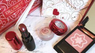 【コスメデコルテ】2019クリスマスコフレがお得で可愛い!大人の上品な赤コスメが揃う!Reddish Amulet