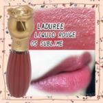 【ラデュレ】バラのパッケージが可愛いリキッドルージュ。一番人気の05を販売終了前にGET